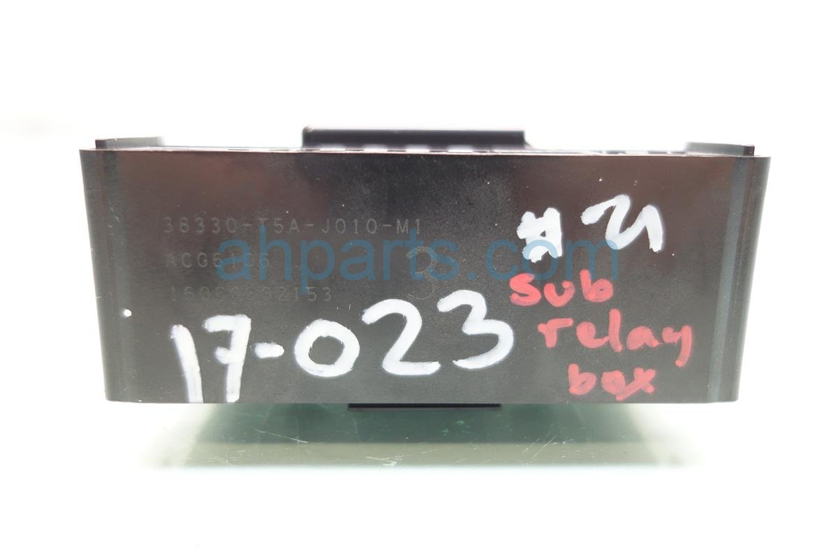 hight resolution of 2017 acura ilx fuse sub relay box 38330 t5a j01 dodge challenger fuse box acura ilx