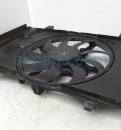 2009 nissan cube radiator cooling fan assembly 21483 1fa0a replacement  [ 1200 x 800 Pixel ]