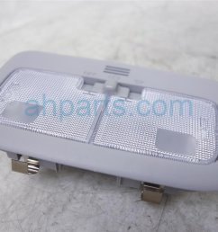 2015 toyota corolla front roof map light ivory 81260 02670 a0 replacement  [ 1200 x 800 Pixel ]