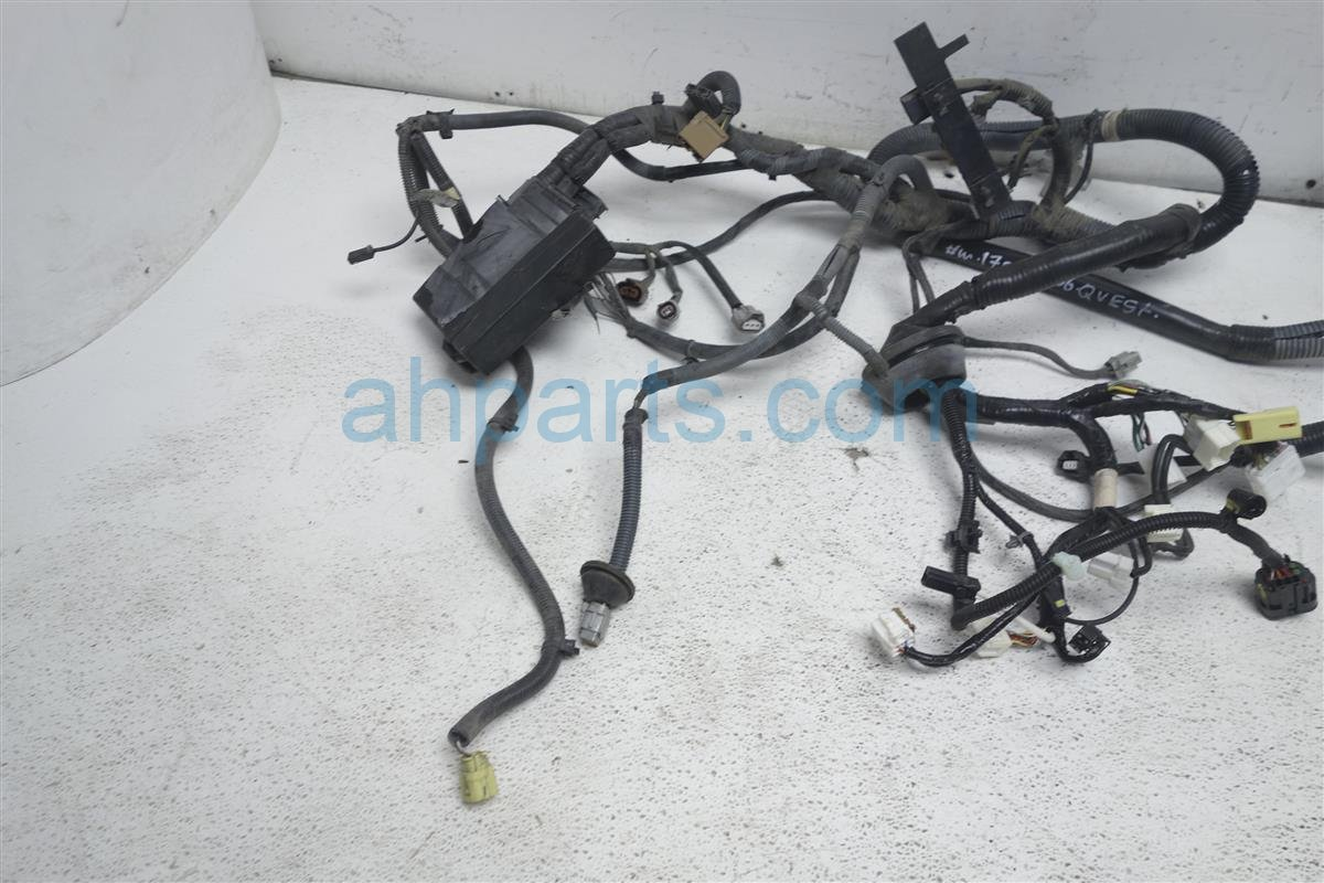 hight resolution of  2006 nissan quest engine room headlight harness 24012 zm00a replacement