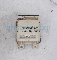 2007 toyota avalon cabin junction fuse box 82730 ac061 replacement  [ 1200 x 800 Pixel ]