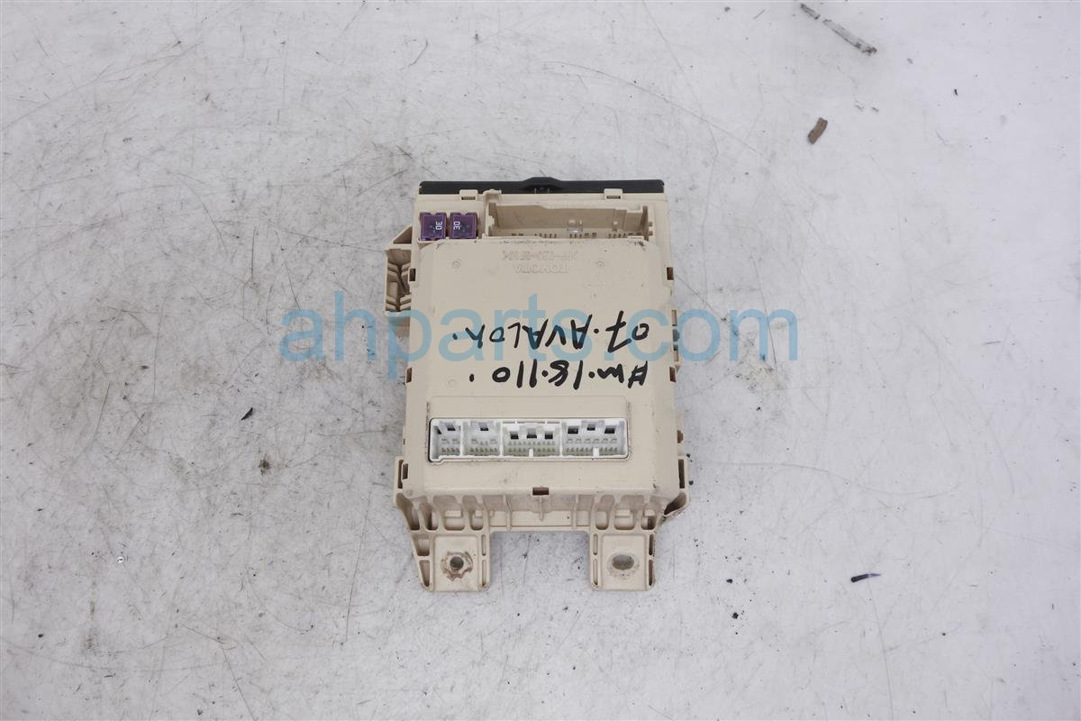 hight resolution of 2007 toyota avalon cabin junction fuse box 82730 ac061 replacement