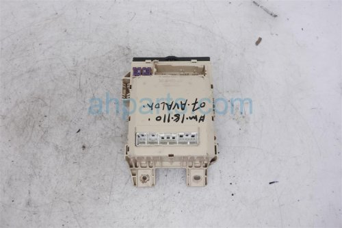 small resolution of 2007 toyota avalon cabin junction fuse box 82730 ac061 replacement
