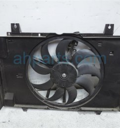 2014 nissan cube cooling radiator fan assembly 21481 1fc5a replacement  [ 1200 x 900 Pixel ]