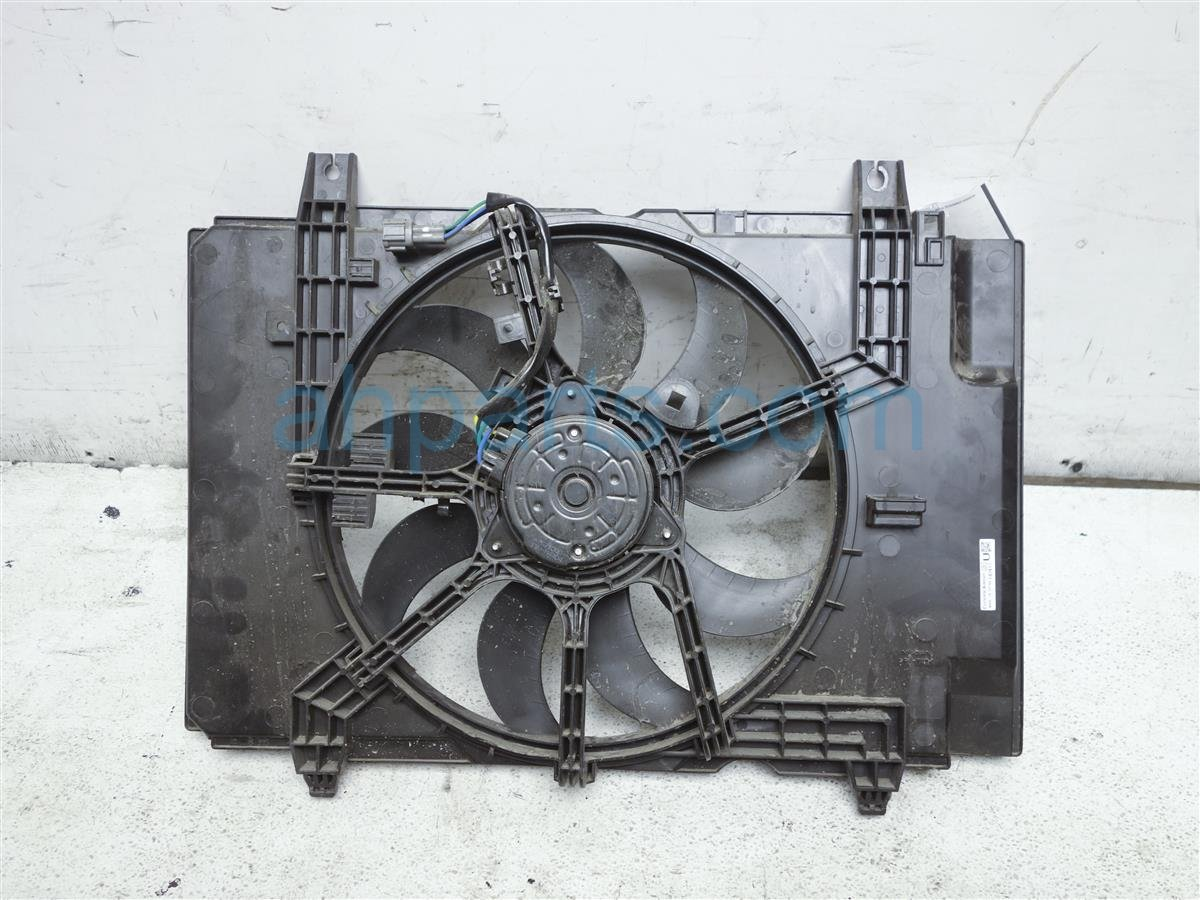 hight resolution of 2014 nissan cube cooling radiator fan assembly 21481 1fc5a replacement