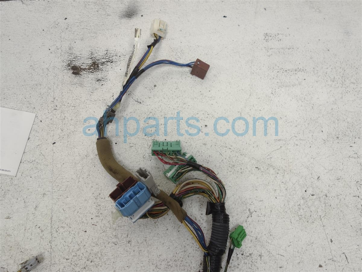 hight resolution of 2000 honda accord dash harness w main relay main relay wire harness