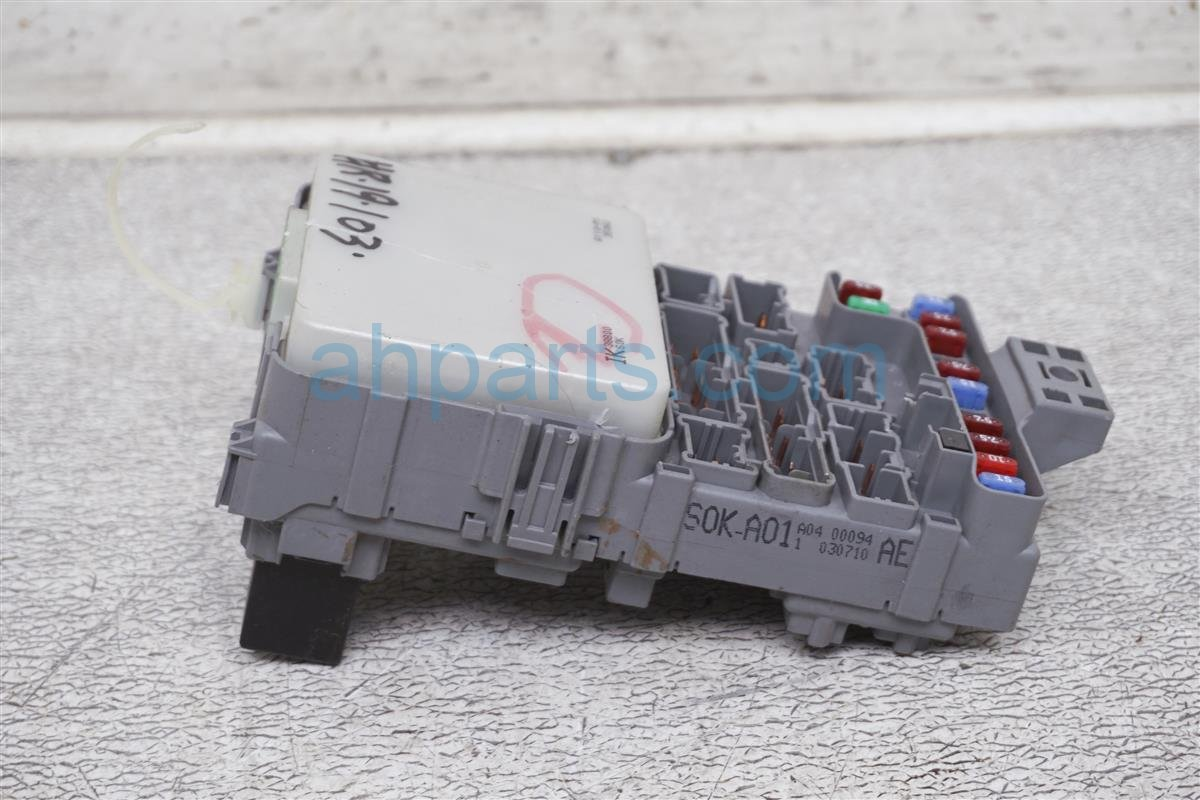 hight resolution of  2003 acura tl driver cabin fuse box 38200 s0k a01 replacement