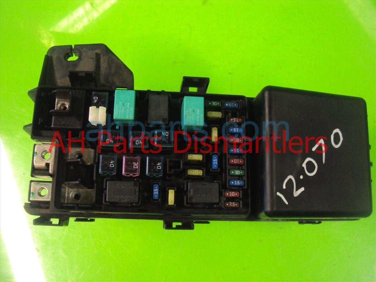 hight resolution of  2008 acura tsx engine fuse box 38250 sec a04 replacement