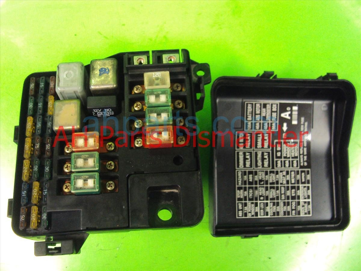 medium resolution of  1998 acura rl engine fuse box replacement
