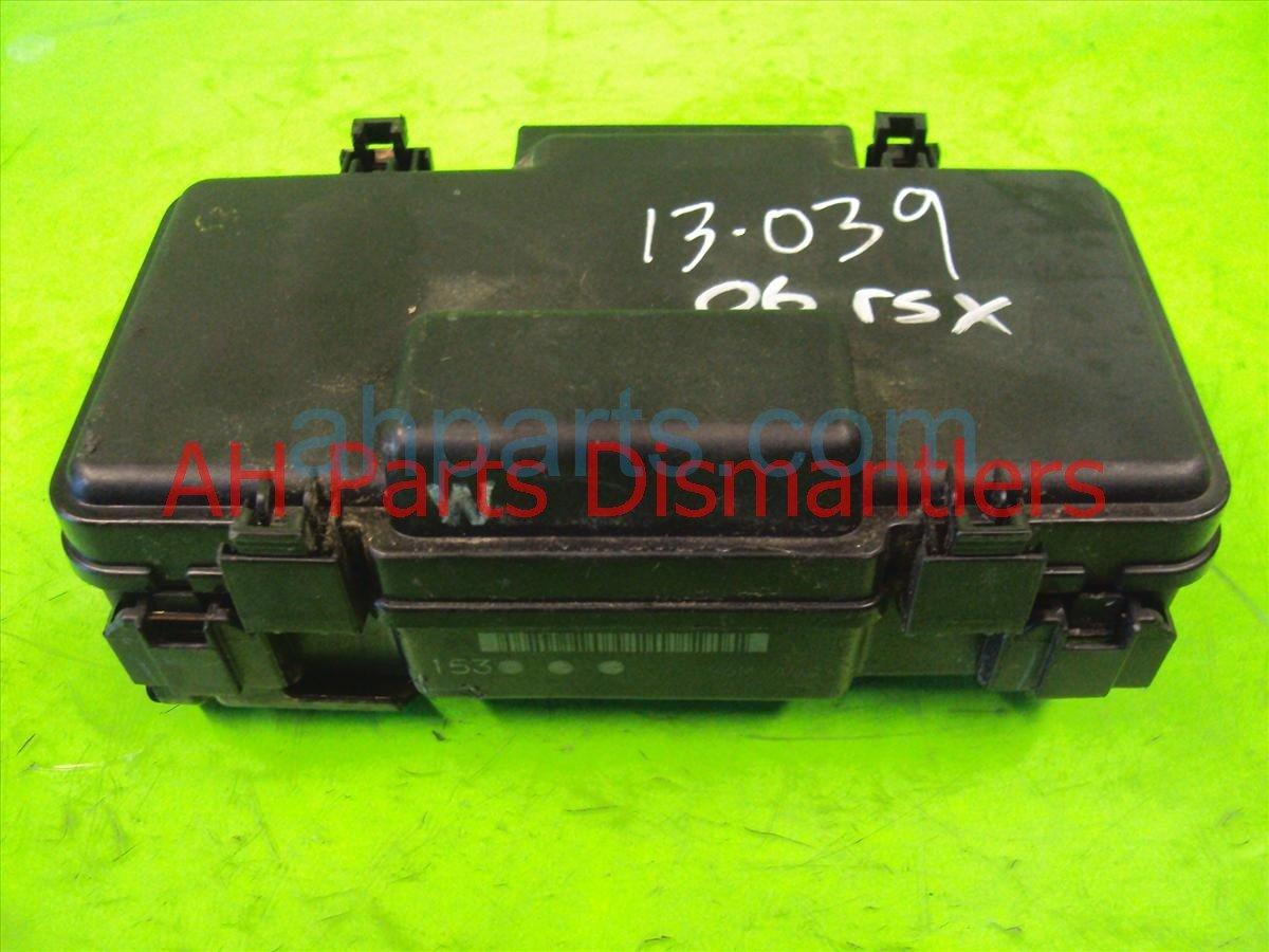 small resolution of  2005 acura rsx under hood engine fuse box 38250 s6m a02 replacement