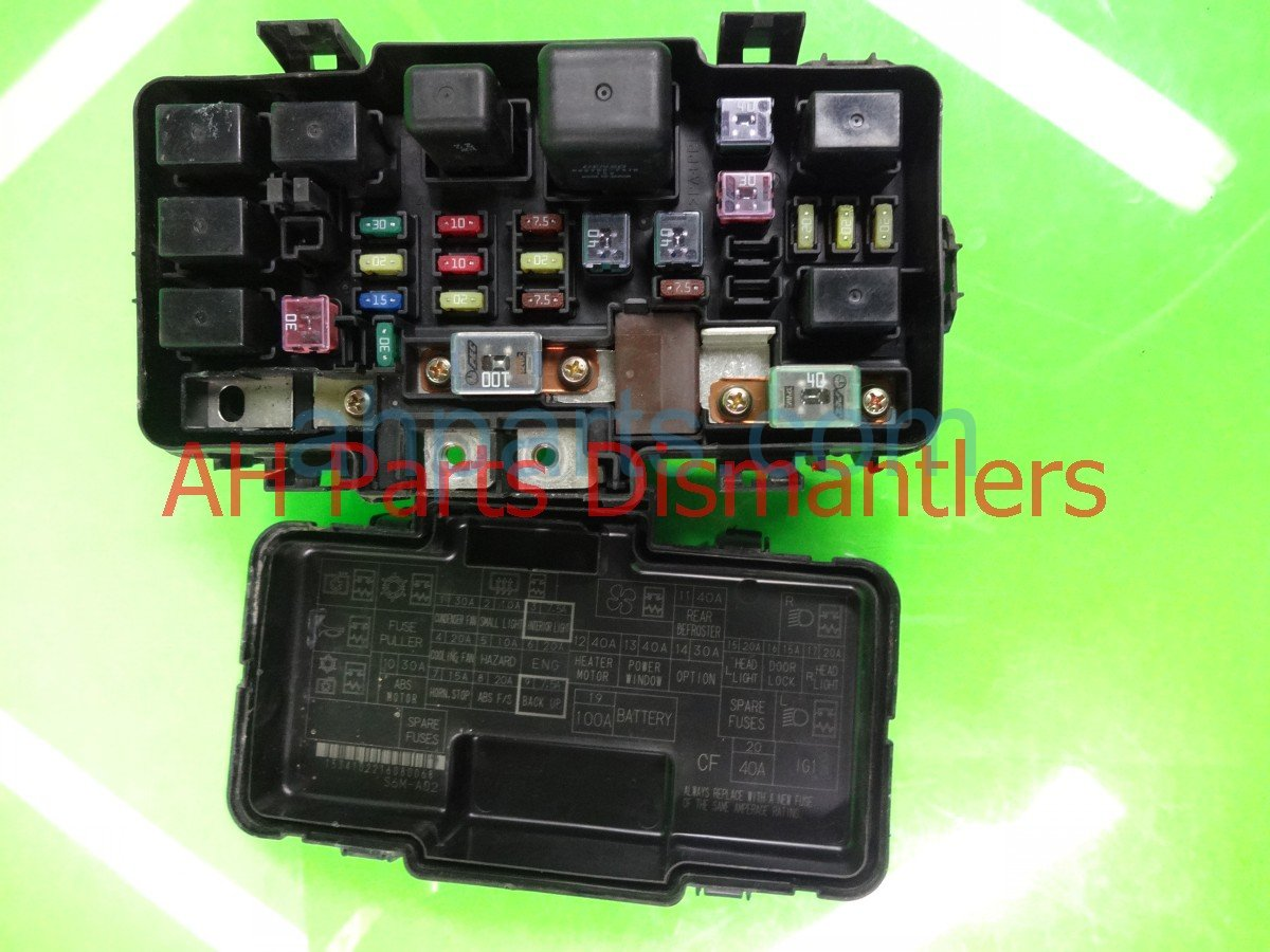 2006 acura rsx engine fuse box 38250 s6m a02 replacement  [ 1200 x 900 Pixel ]