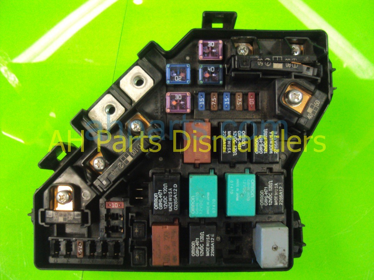 hight resolution of 2007 honda civic engine fuse box 38250 sna a01 replacement