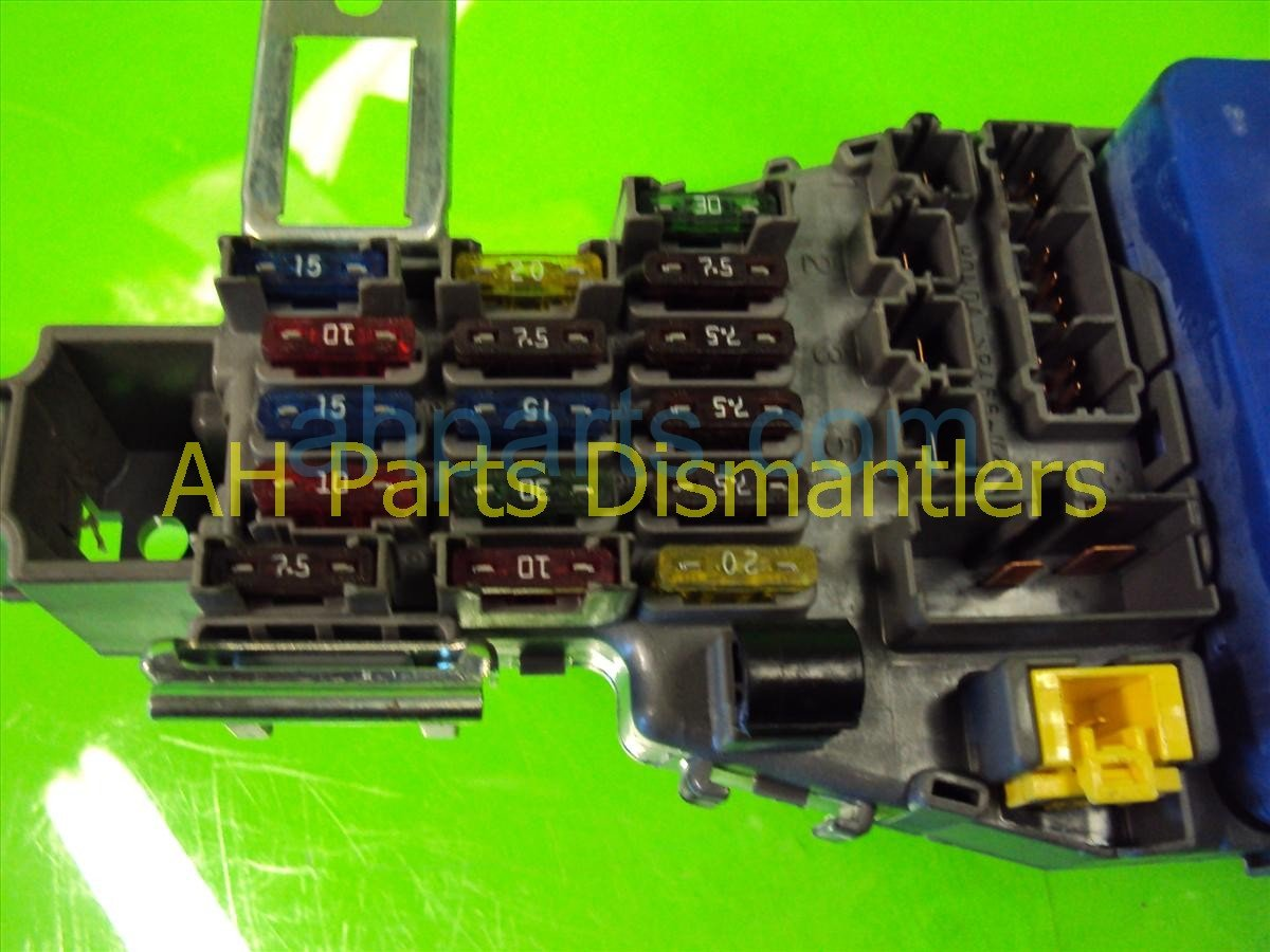 hight resolution of  1999 acura cl dash fuse box 38200 ss8 a01 replacement