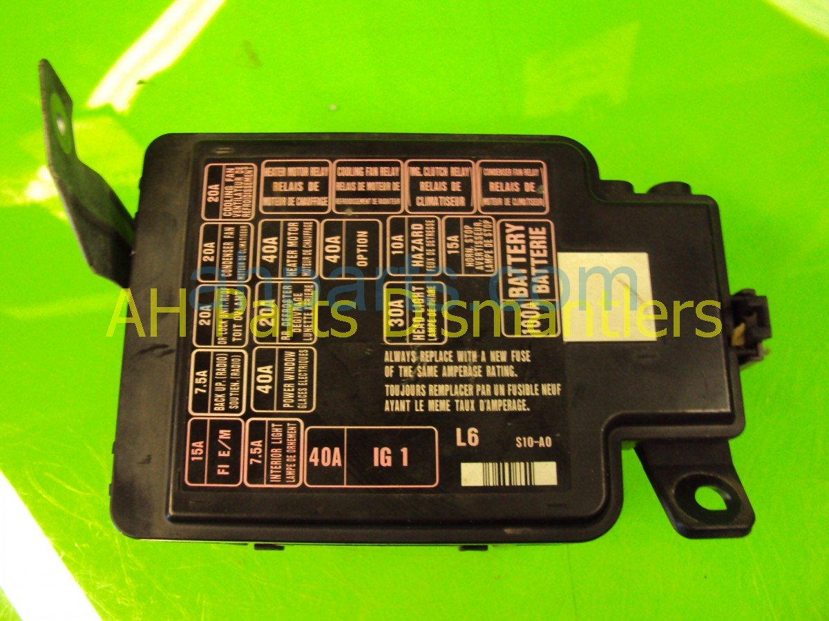 hight resolution of 2001 honda cr v main fuse box 38250 s10 a01 replacement