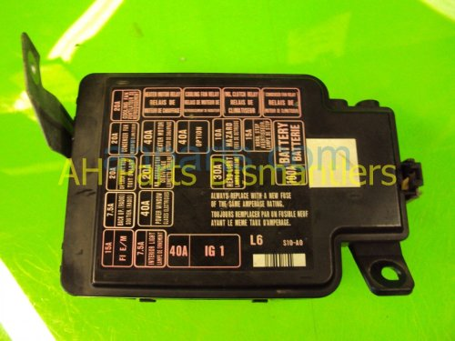 small resolution of 2001 honda cr v main fuse box 38250 s10 a01 replacement