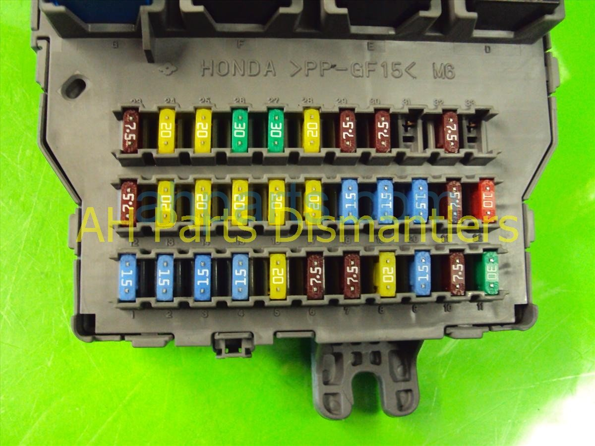 hight resolution of 2007 acura tl dash fuse box 38200 sep a11 2007 acura tl instrument cluster 2007 acura tl fuse box 15