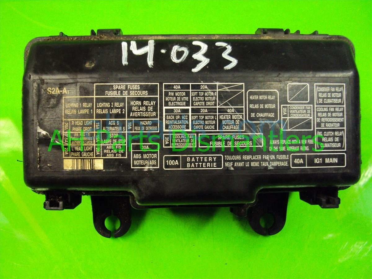 2002 honda s2000 engine fuse relay box 38250 s2a a02 replacement  [ 1200 x 900 Pixel ]