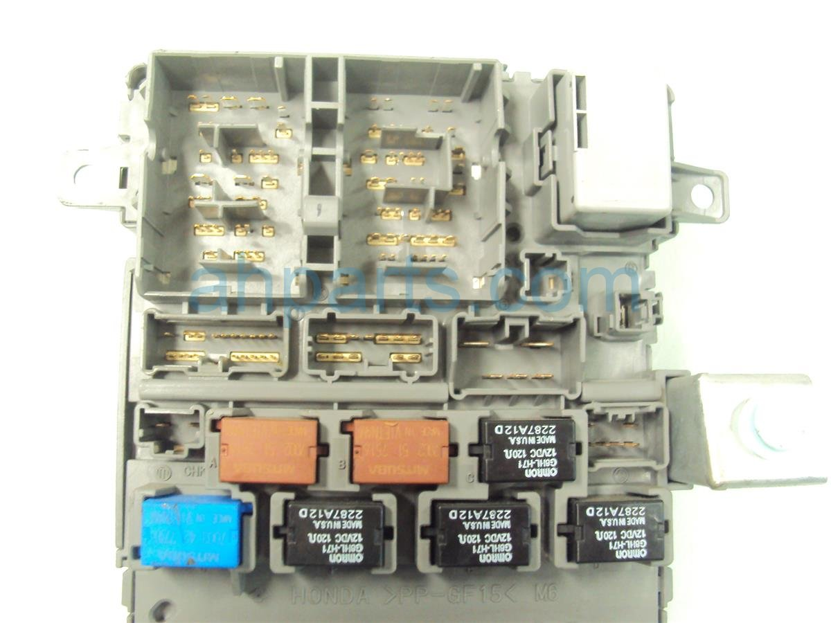 hight resolution of 2008 acura tl dash fuse box 38200 sep a11 2006 acura tl fuse box diagram 2008 acura tl ac fuse