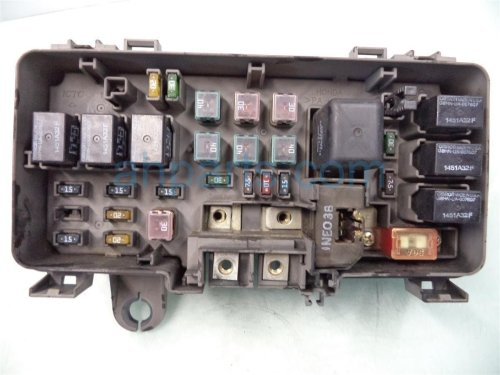 small resolution of  2001 honda odyssey engine fuse box no lid 38250 s0x a12 replacement