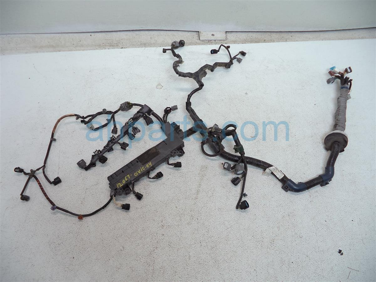 hight resolution of  2004 honda civic engine wire harness 32110 pza a50 replacement