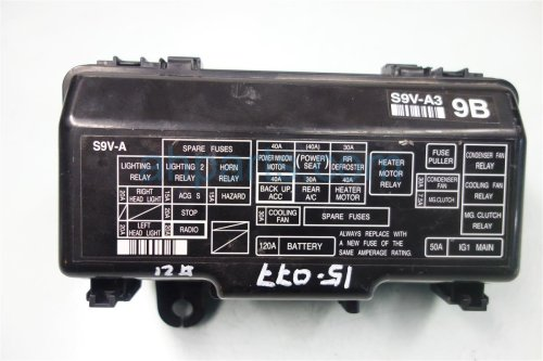 small resolution of 2007 honda pilot engine fuse box 38250 s9v a32