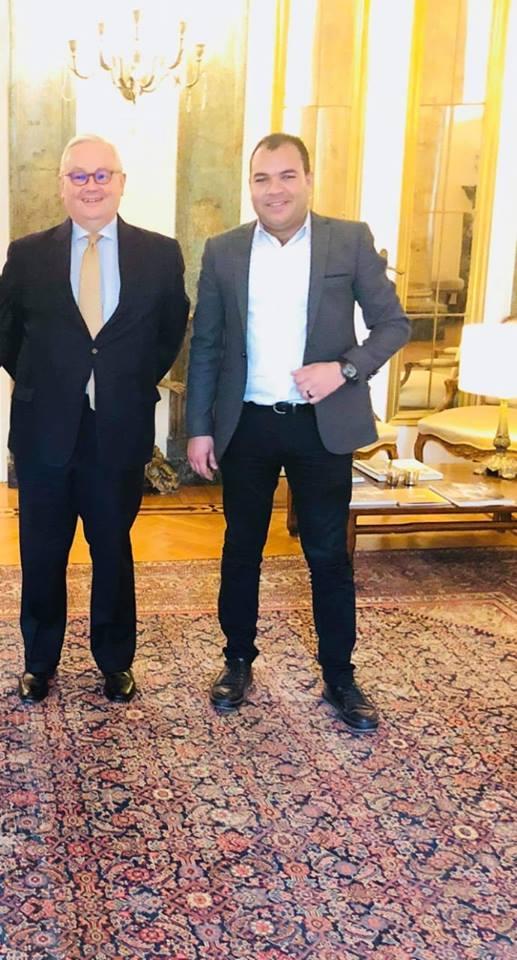 دعم وتنشيط العلاقات الثقافية بين السفارة الايطالية والمركز العربى الأفريقى