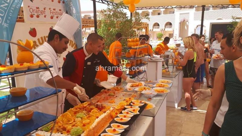 تنشيطا للسياحة.. فنادق الغردقة تنظما مهرجانا للبرتقال
