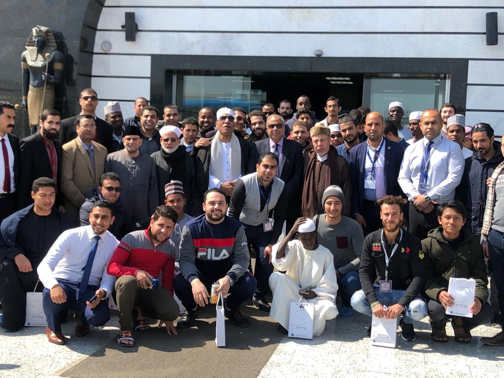 جولة للمشاركين في مسابقة الفائزون بالمنطقة الصناعية ببورسعيد