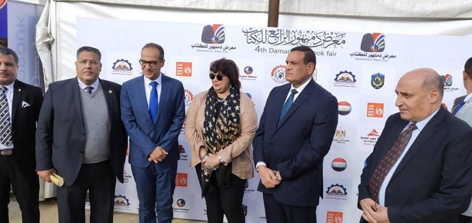 محافظ البحيرة يستقبل د/ايناس عبدالدايم وزيرة الثقافة