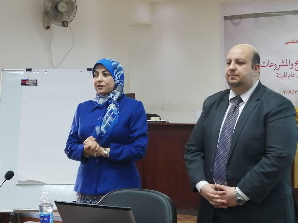 علام تفتتح الإعداد للبرامج والمشروعات بقاعة سعد الدين وهبه