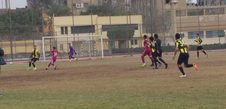 المقاولون يحصد تذكرة التاهل للدور النهائي بكاس مصر مواليد 97