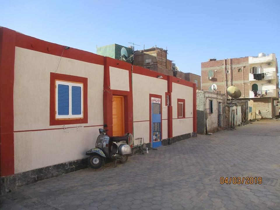 عبدالله يتابع أعمال التتطوير بالمناطق القديمة بمدينة الغردقة