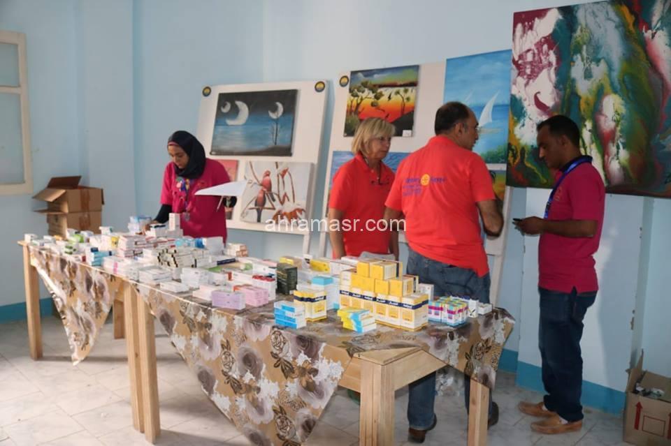 يعلن نادي روتاري البحر الأحمر – الجونة عن إطلاق قافلته الطبية السادسة