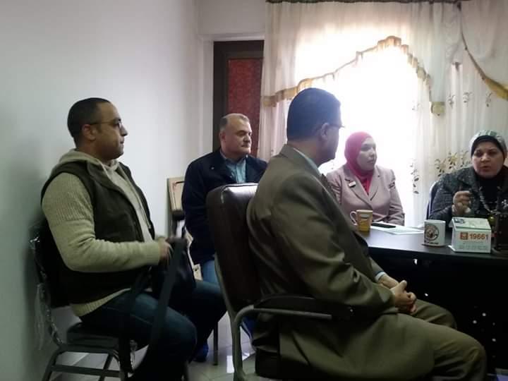 الاجتماع الاول لكتلة ستات وشباب  أد التحدي بالقليوبية.