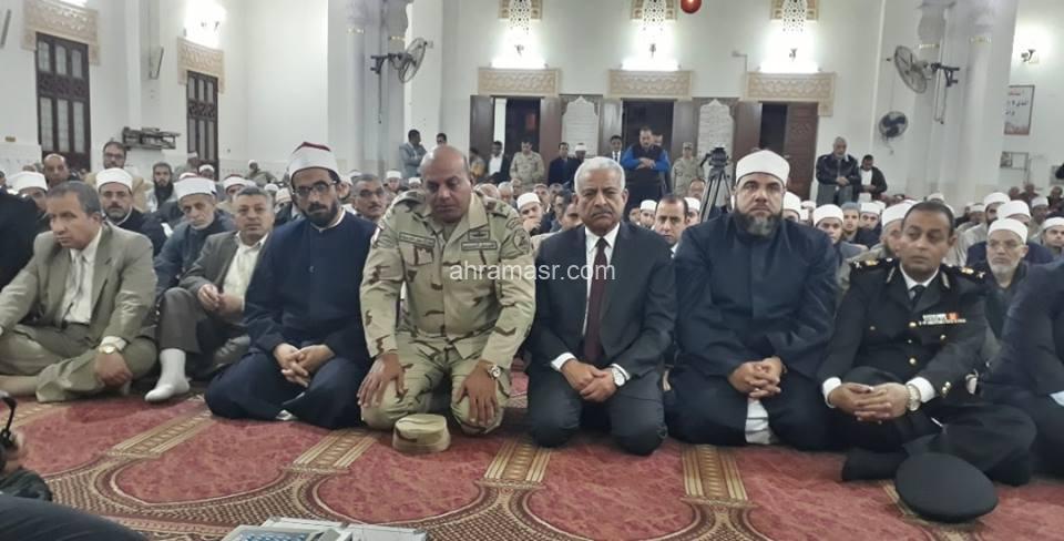قائد الجيش الثالث ومحافظ السويس يشاركان احتفال المحافظة بذكرى الإسراء والمعراج
