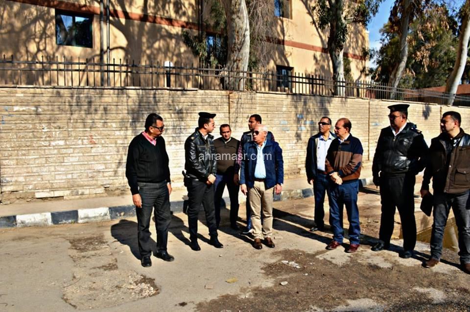 الغضبان يتفقد اعمال تطوير محور 23 يوليه بالمناخ ببورسعيد