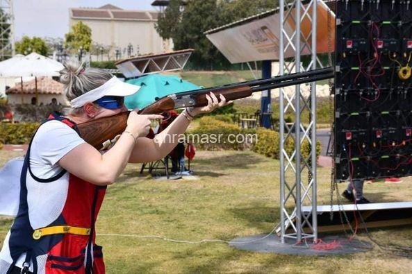 متابعة كاس العالم للرماية ختام مسابقات اسكيت سيدات فردي