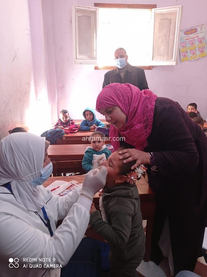 *محافظ البحيرة : إنطلاق الحملة القومية للتطعيم ضد مرض شلل الأطفال*