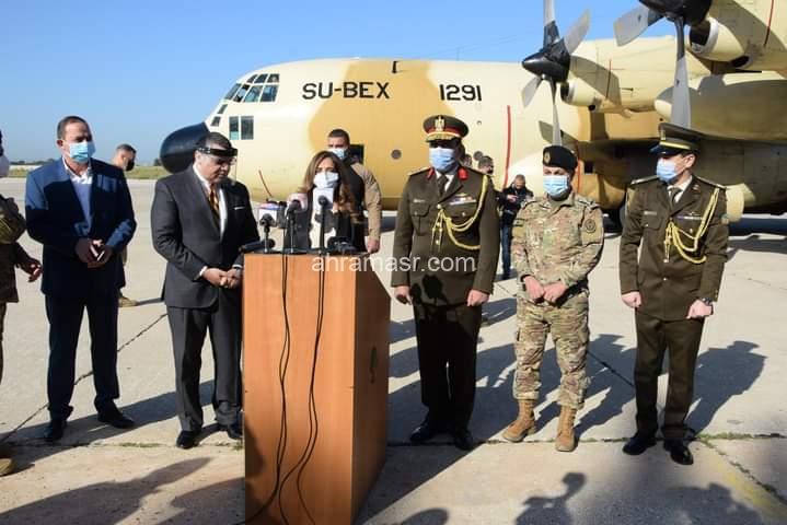 إستمراراً للدعم المصرى للأشقاء اللبنانيين وترسل مساعدات طبية إلى الجيش اللبنانى …