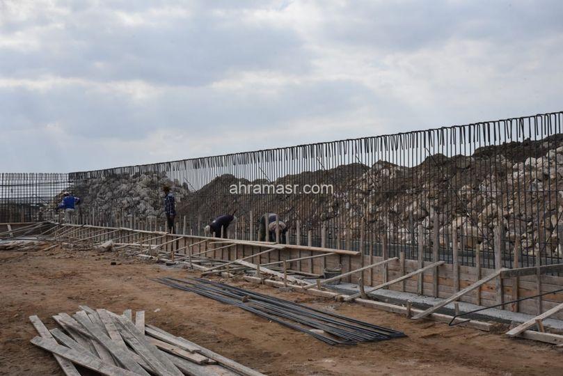 الانتهاء من أعمال انشاء المنفذ الجديد بالحي الاماراتي