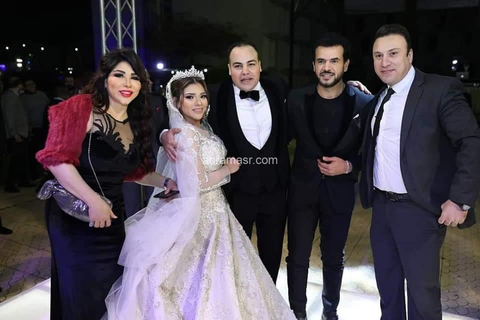 ..حفل زفاف الإعلامي عمرو صحصاح وزوجته آيه وسط نخبة من النجوم
