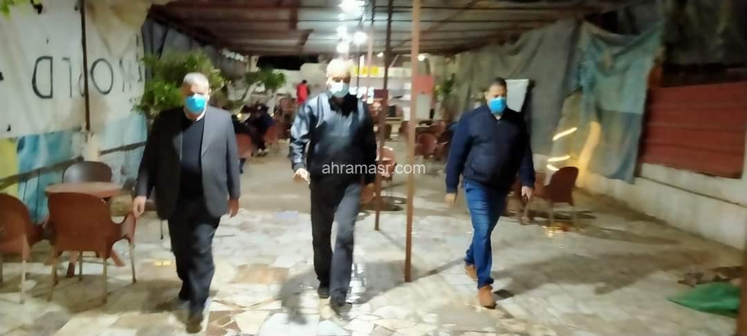 إعدام ٥٨ شيشة بعد مصادرتها خلال حملة ليلية بمركز المحمودية