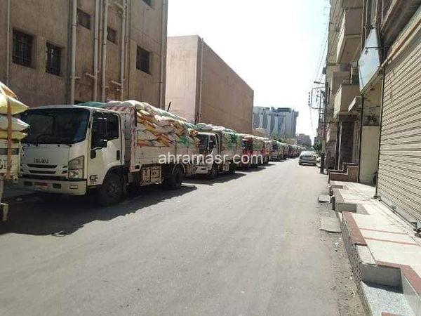 صوامع وشون الشرقية تستقبل (26163) طن من سنابل القمح