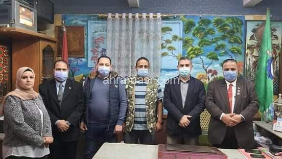 لقاء مفتوح مع مدير عام الاداره التعليميه بشرق شبرا الخيمه
