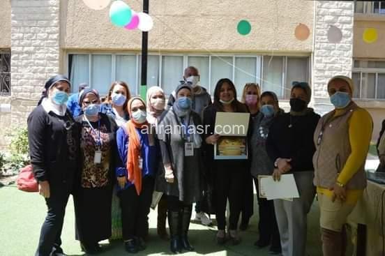 فى حفل بمدرسة طيبة : تكريم الطلاب الفائزين فى مسابقة محافظة القليوبية