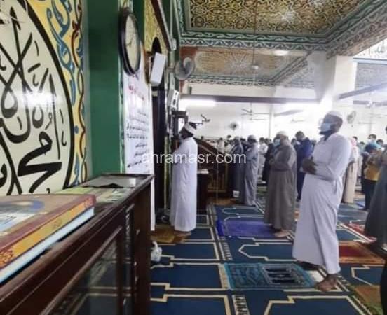 بيان صادر عن وزارة الأوقاف خلال صلاة التراويح