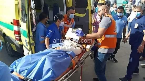 محافظ_شمال_سيناء يزور الجرحى والمصابين الفلسطينيين  ويؤكد على توفير الرعاية الكاملة لهم….