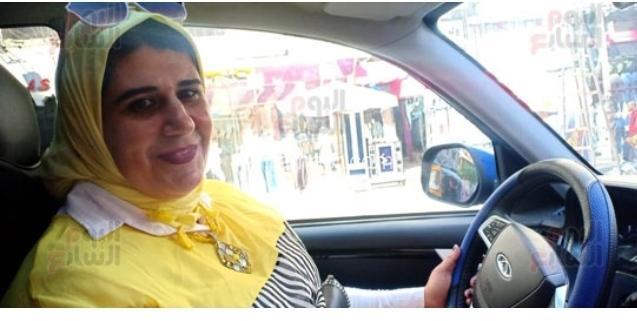 فيروز أشهر سائقة بعروس البحر المتوسط