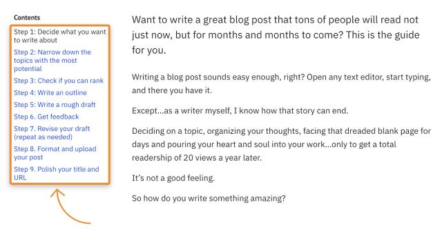 24 einfache Vorlagen für Blogbeiträge (und wann du welche nutzt)