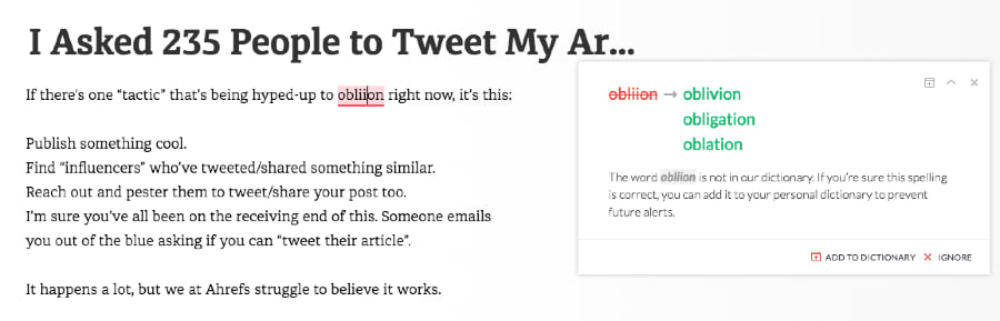 I Asked 235 People to Tweet My Article and All I G